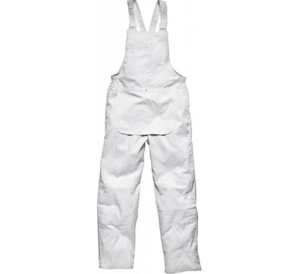 Painters Bib & Brace White various sizes